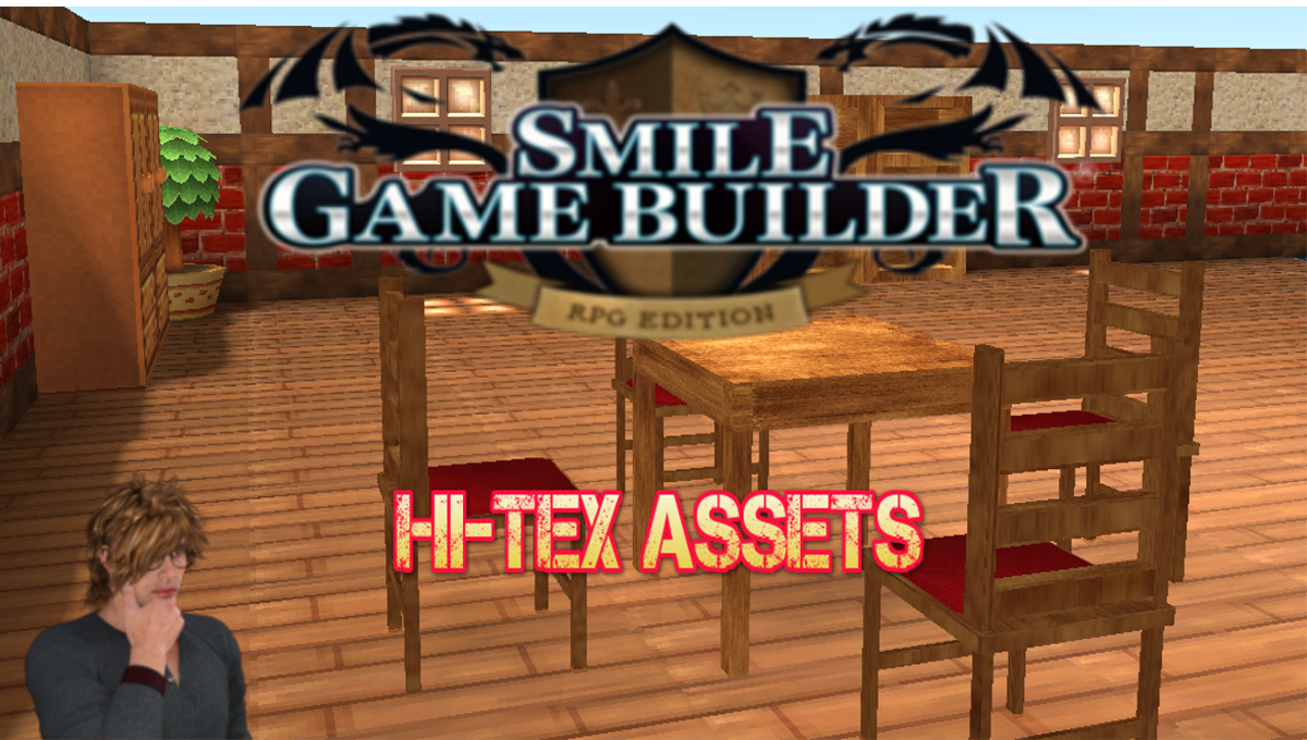 Smile Game Builder Hi-Tex Assets Models