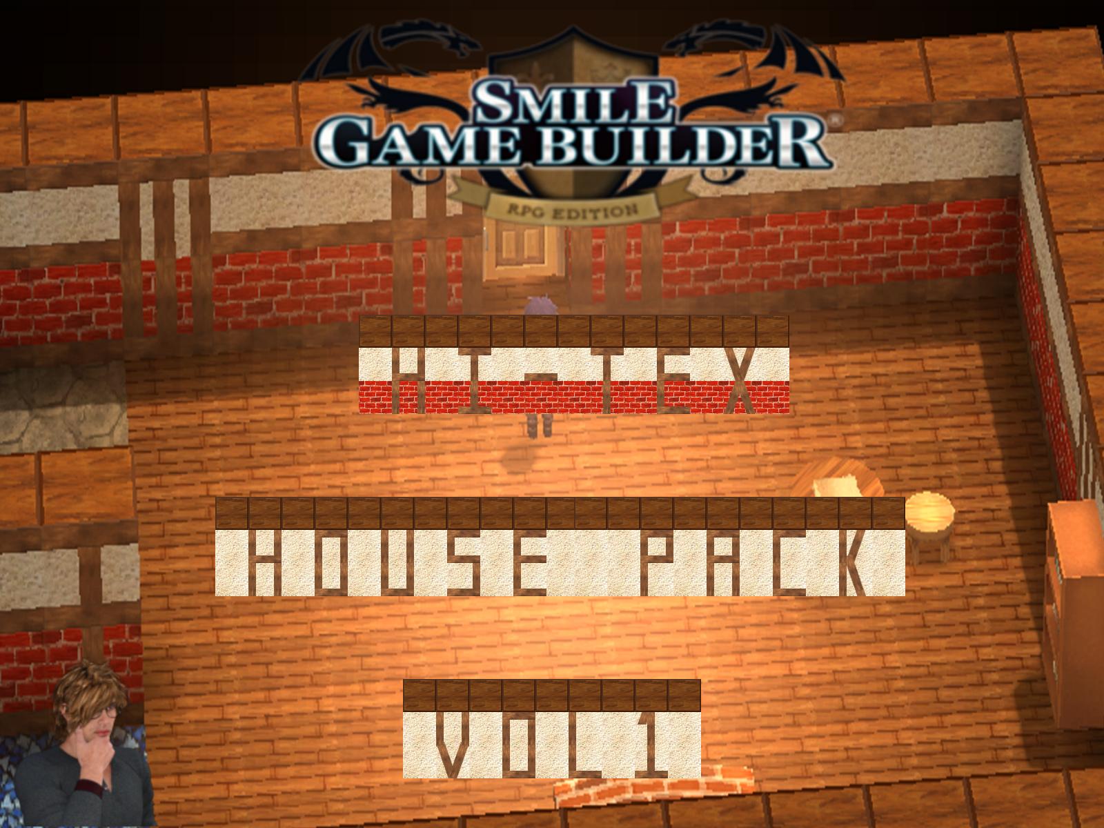 Smile Game Builder Hi-Tex House Pack Vol. 1 Asset Pack