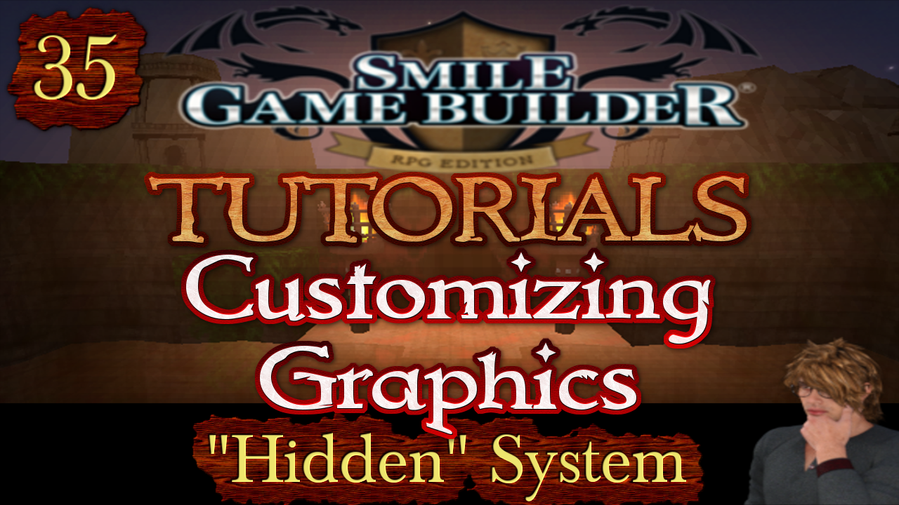 "Smile Game Builder Tutorial 035: Customizing Graphics - ""Hidden"" System"