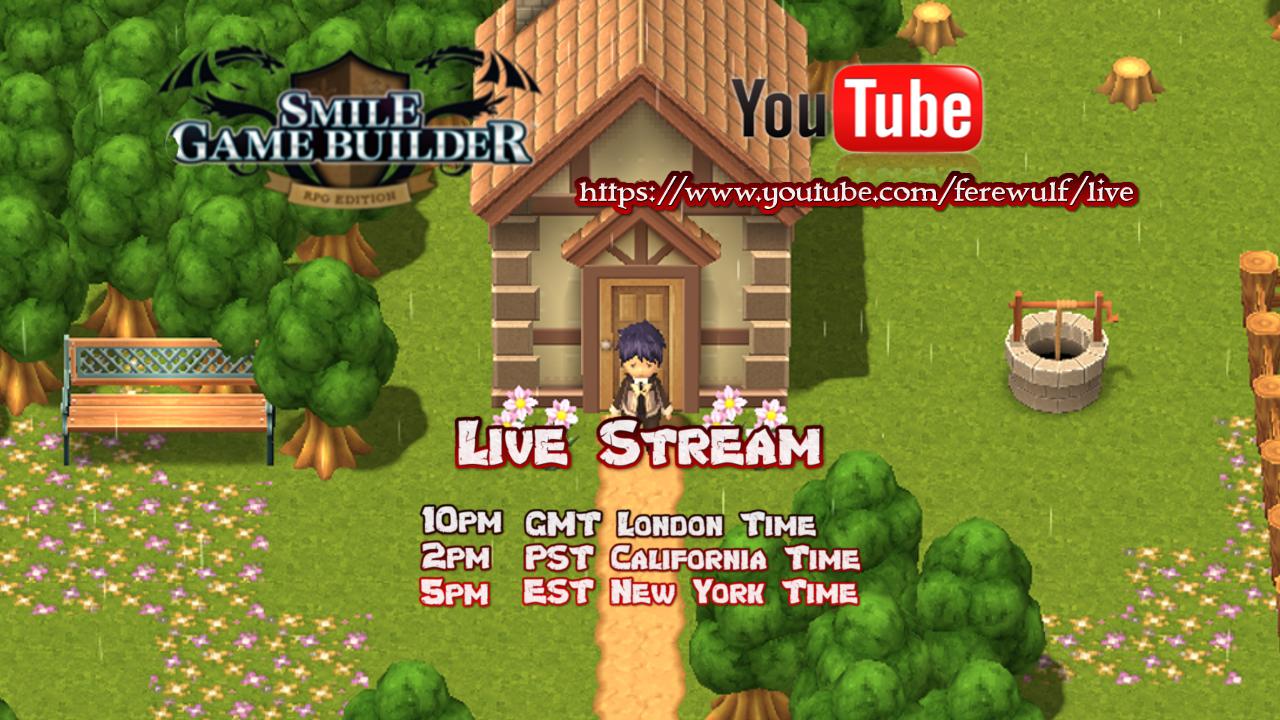 SMILE GAME BUILDER Live-Stream
