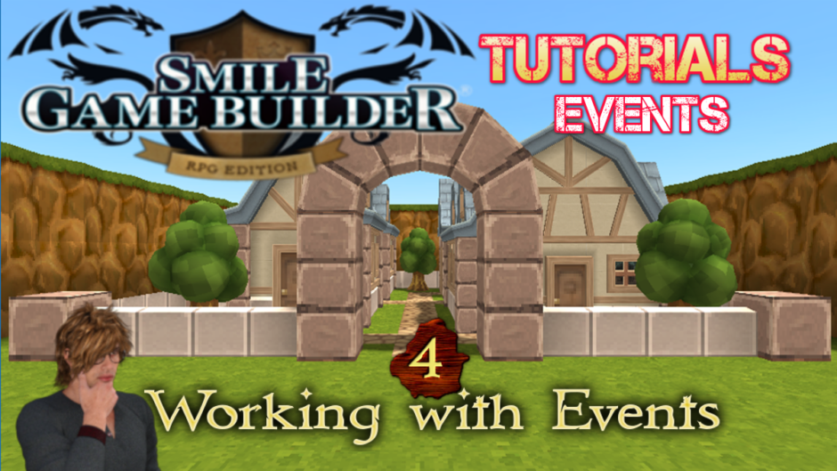 Smile Game Builder – Tutorial #4:Working with Events