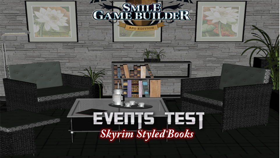 Skyrim Styled Book Reading Experiment