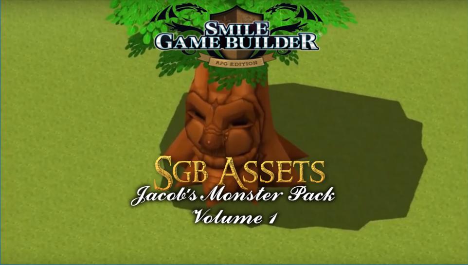 Jacob's Monster Pack Volume 1 – Smile Game Builder Assets