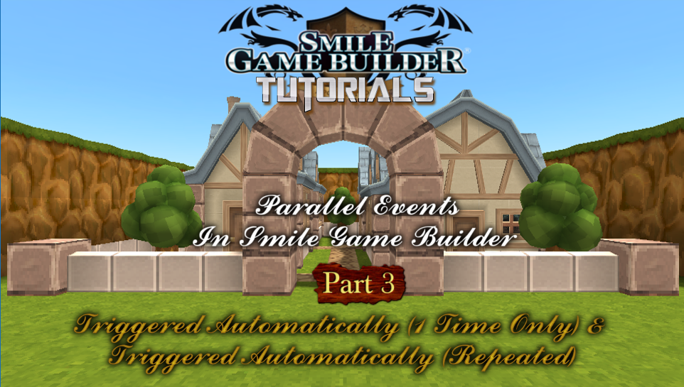 Parallel Events In Smile Game Builder – Part 3