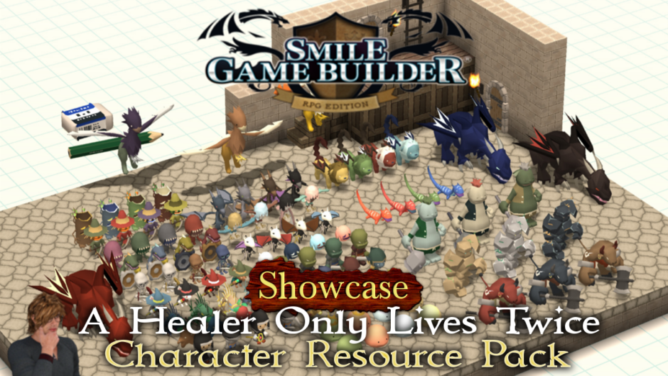 """A Healer Only Lives Twice"" Character Resource Pack – Showcase"