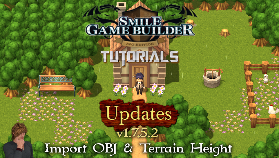 Smile Game Builder Update v1.7.5.2 – Import OBJ & Terrain Height