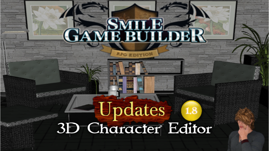 3D Character Editor – Smile Game Builder Update 1.8