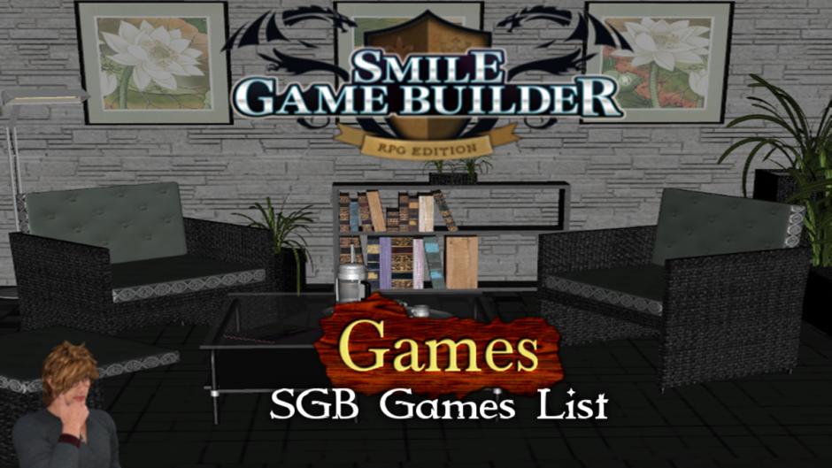 Smile Game Builder Games List