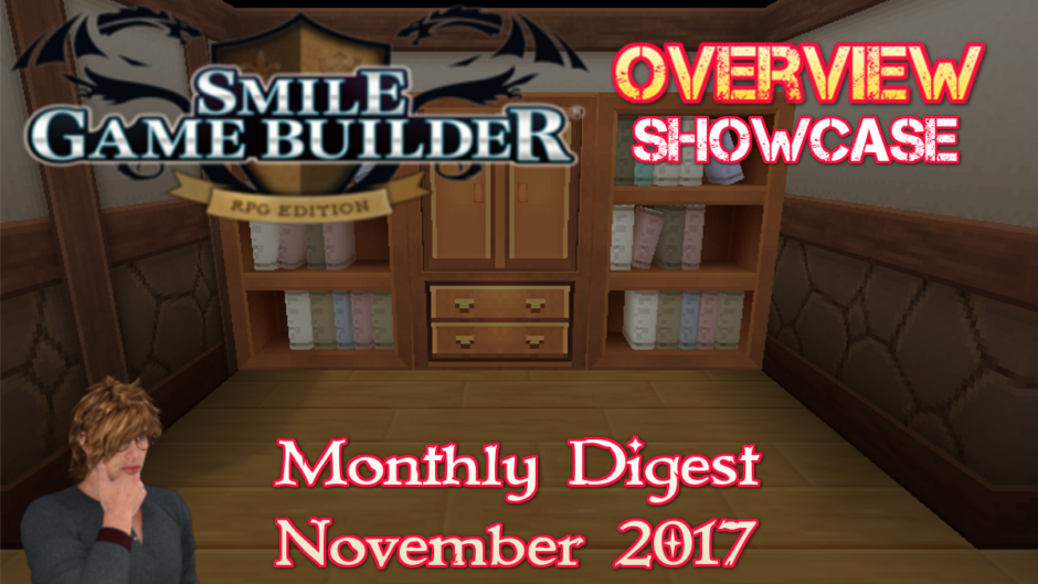 Smile Game Builder Monthly Digest – November 2017
