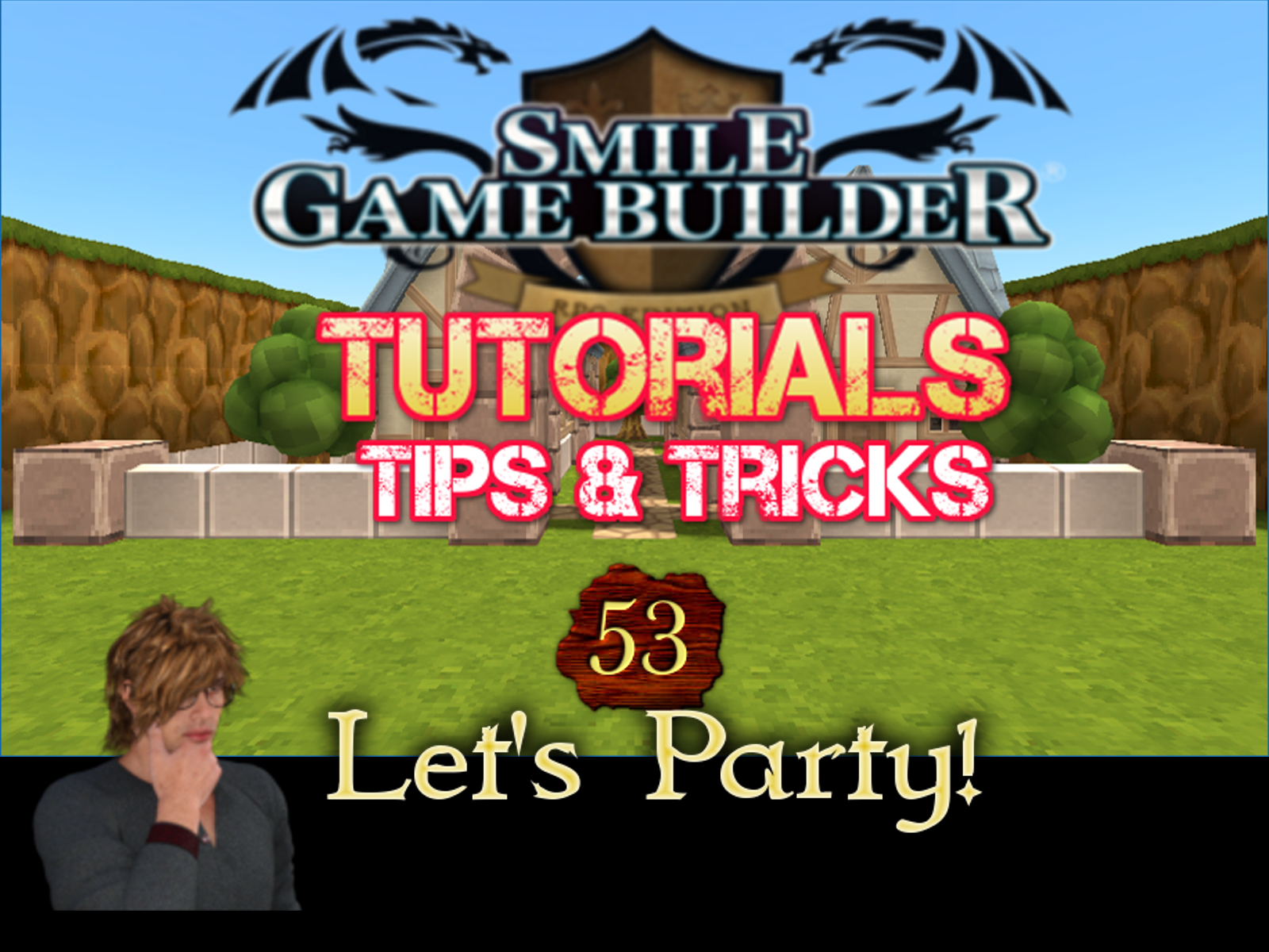 Smile Game Builder Tutorial #53 – Let's Party!