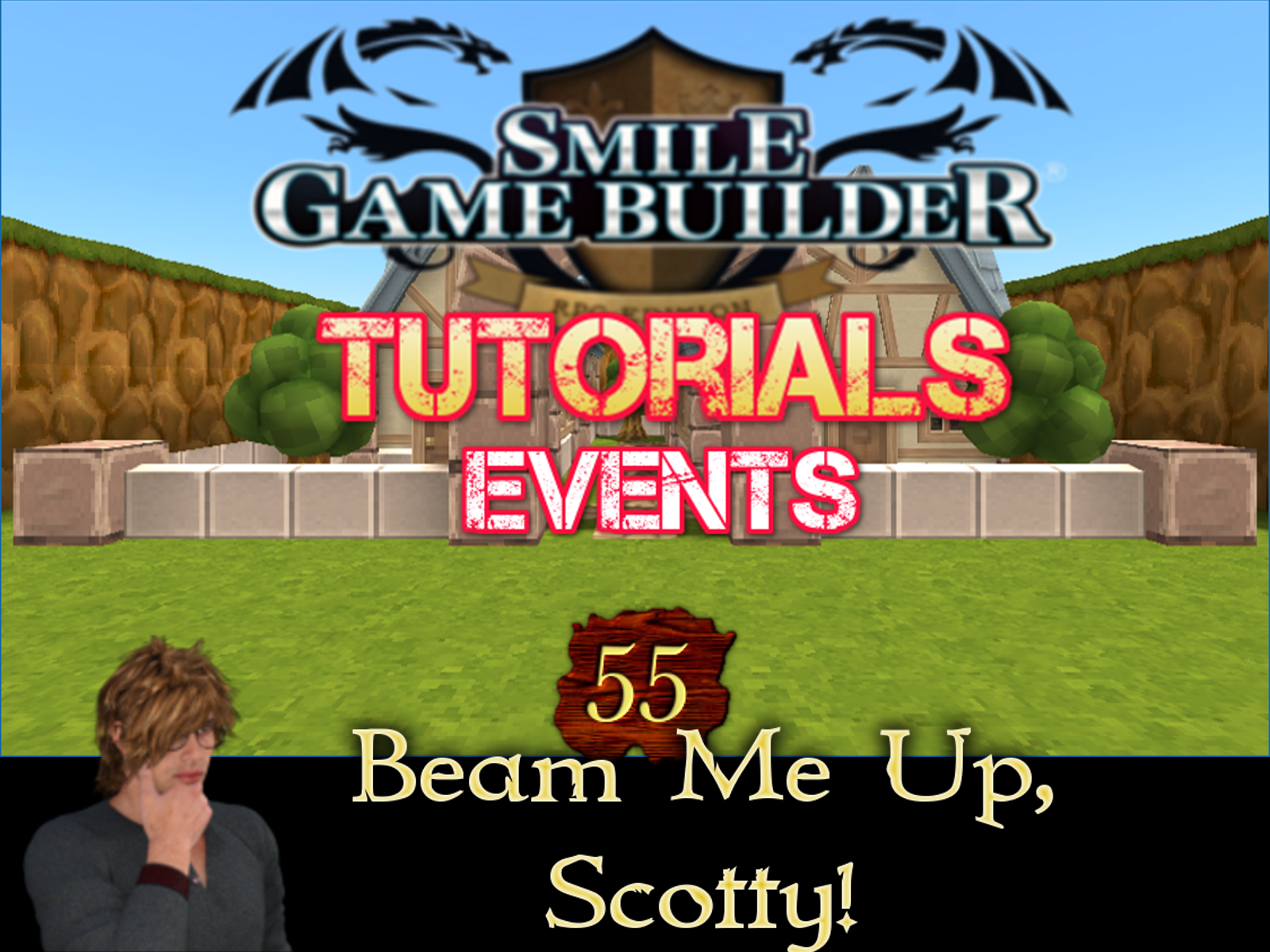 Smile Game Builder Tutorial #55: Beam Me Up, Scotty!