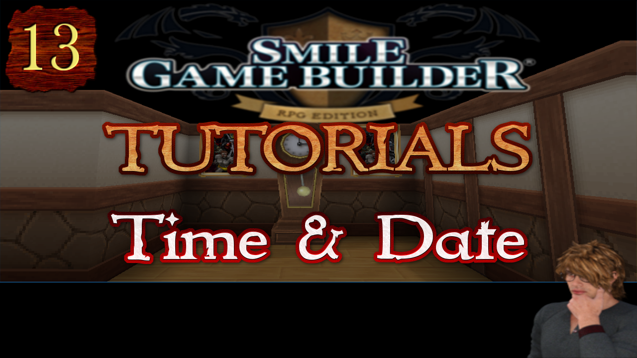 Smile Game Builder Tutorial #13:Time and Date