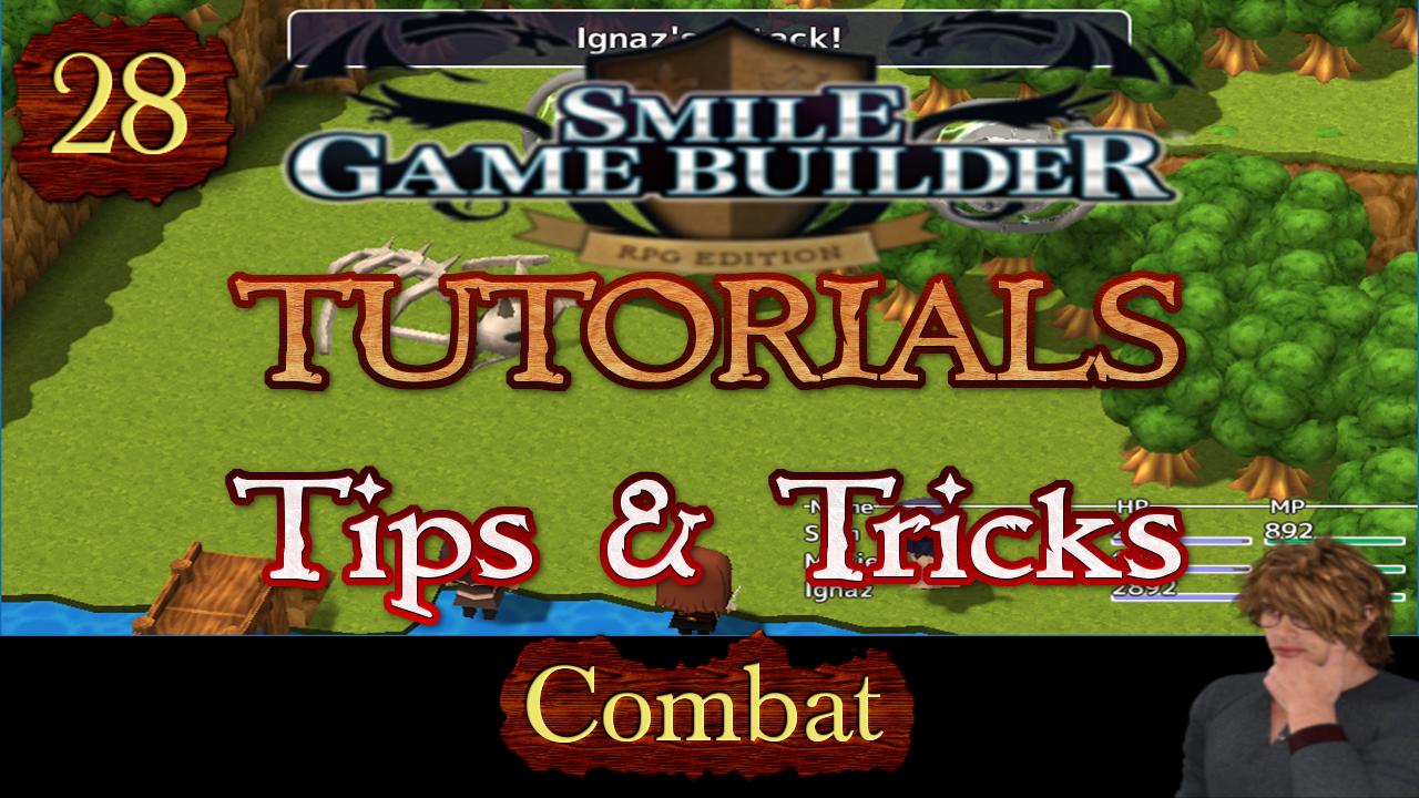 Smile Game Builder Tutorial #28 – Tips & Tricks (Combat)