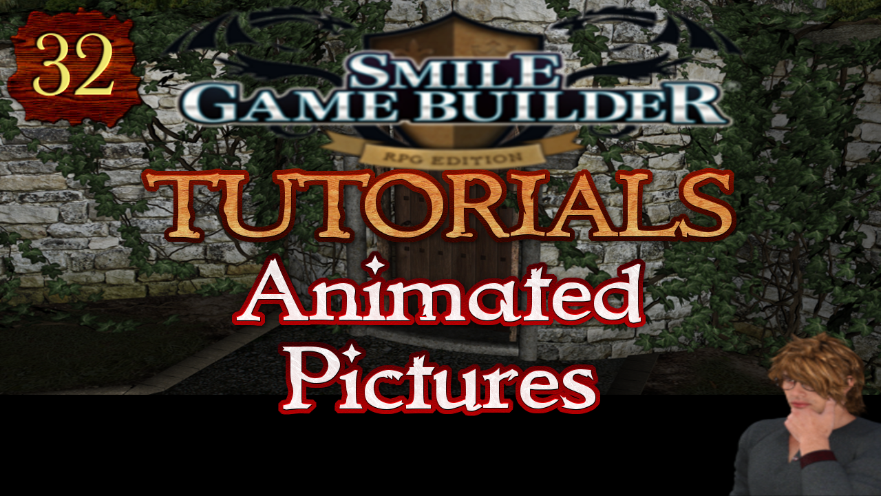 Smile Game Builder Tutorial #32: Animated Pictures