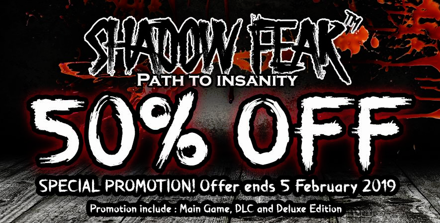 Shadow Fear: Path to InsanitySpecial Price Sale Up To 60% Off