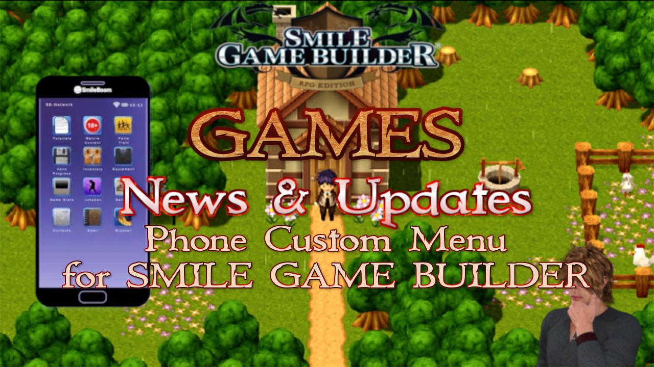 Phone Custom Menu for SMILE GAME BUILDER