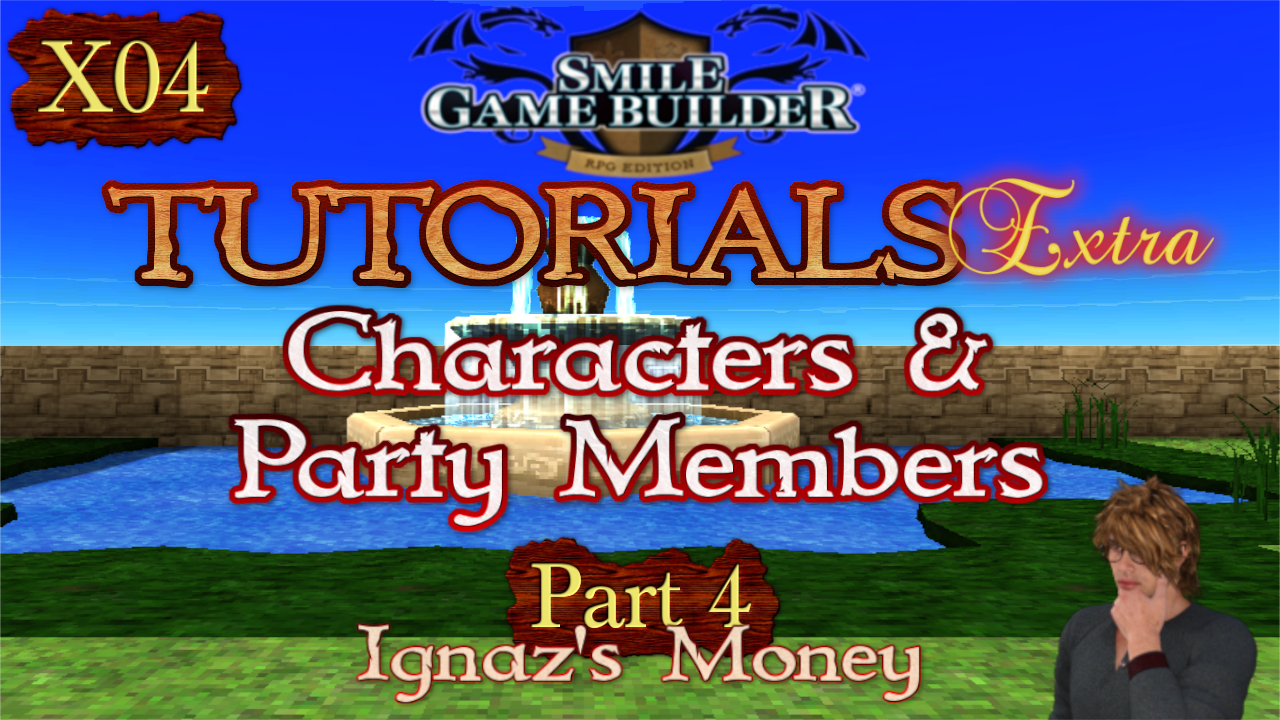 SMILE GAME BUILDER Tutorials Extra #X04: Ignaz's Gold