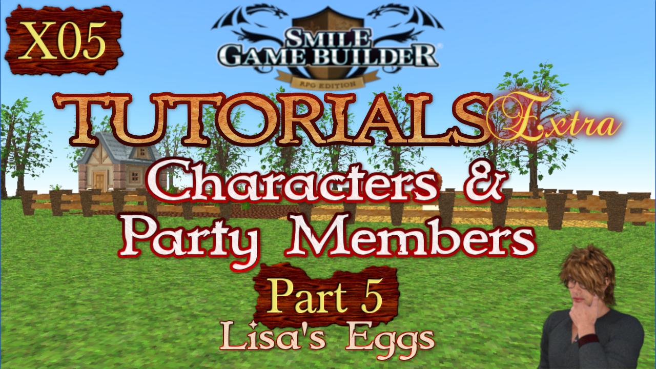 SMILE GAME BUILDER Tutorials Extra #X05: Lisa's Eggs