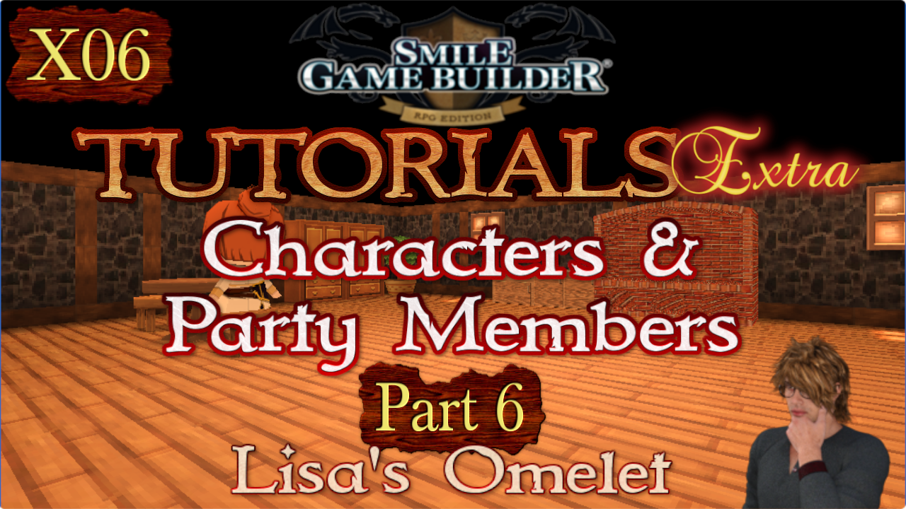 Smile Game Builder Tutorials Extra #X06: Lisa's Omelet