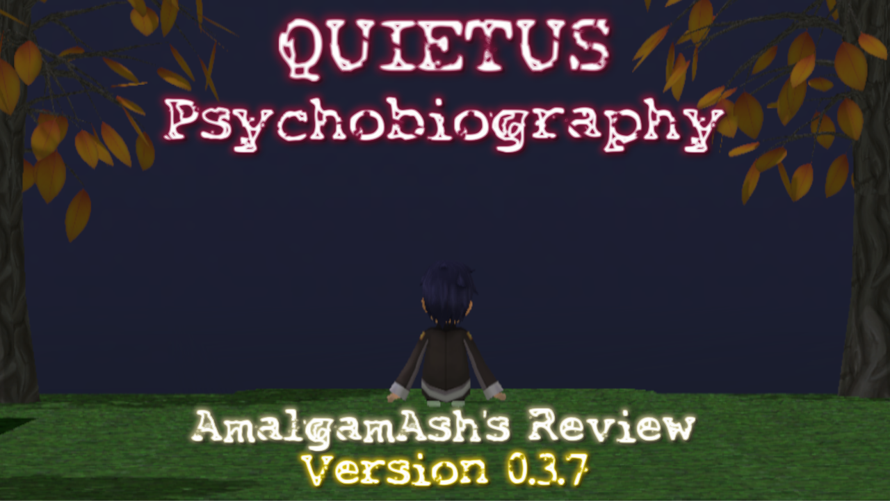Quietus: Psychobiography – A look at the Quietus 0.3.7 UPDATE