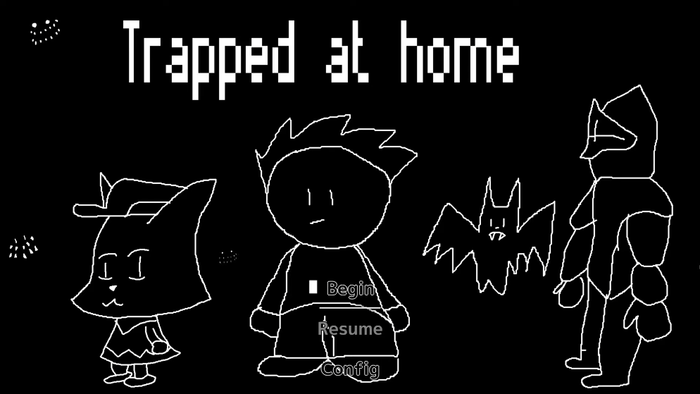 Trapped at Home – Smile Game Builder Summer 2021 Game Jam